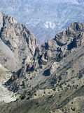 Rugged Pass, Afghanistan Royalty Free Stock Photo