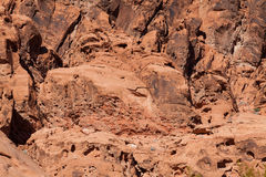 Rugged Red Rock Landscape Royalty Free Stock Images