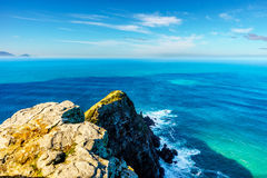 Free Rugged Rocks And Steep Cliffs Of Cape Point In The Cape Of Good Hope Nature Reserve Royalty Free Stock Photo - 97719575