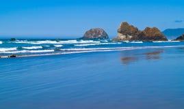 Rugged Rocky Arcadia Beach. On the Oregon Coast Royalty Free Stock Photos