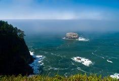 Rugged Rocky Coastline on the Oregon Coast stock photos