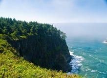 Rugged Rocky Coastline on the Oregon Coast royalty free stock image