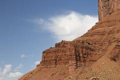 Rugged sandstone ridges Stock Photo