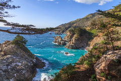 Rugged Scenic California Coastline Royalty Free Stock Photo