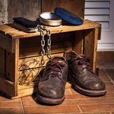 Rugged shoes Royalty Free Stock Image