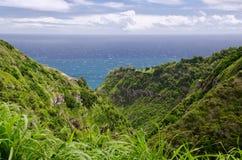 Rugged shores of Maui Royalty Free Stock Photo