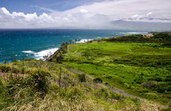 Rugged shores of Maui Stock Photo