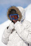 Rugged up Stock Photography