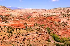 Rugged Utah landscape Stock Images
