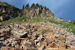 Rugged Utah Mountains Stock Photo