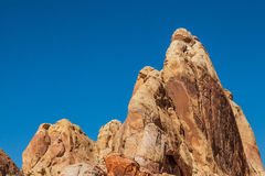 Rugged Valley of Fire State Park Landscape Stock Photos