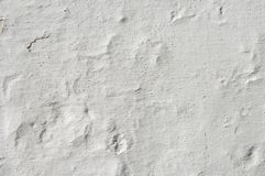 Rugged white wall royalty free stock photography