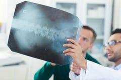Ruggegraats Röntgenstraal royalty-vrije stock afbeeldingen
