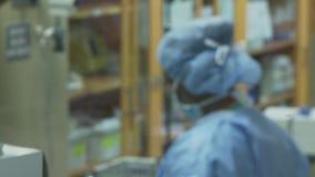 Ruggegraatschirurg (6 van 11) stock video