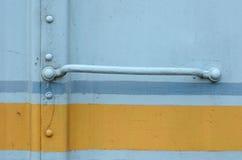 Ruggine dei carrelli ferroviari Fotografia Stock