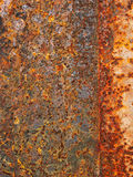 Ruggine del ferro fotografia stock libera da diritti