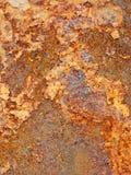 Ruggine del ferro Fotografie Stock