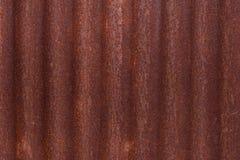 Ruggine galvanizzata del ferro Fotografia Stock