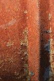 Ruggine su un vecchio fusto metallico Fotografia Stock Libera da Diritti