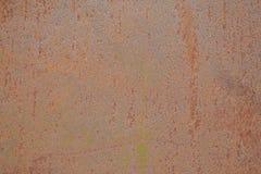 Ruggine su una superficie di metallo Immagini Stock