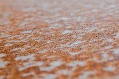 Ruggine su una superficie di metallo Immagine Stock