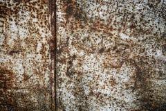Ruggine su una superficie di metallo Fotografia Stock