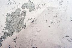 Ruggine sul fondo d'argento della superficie di metallo Fotografia Stock Libera da Diritti