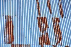 ruggine sul tetto Fotografia Stock Libera da Diritti