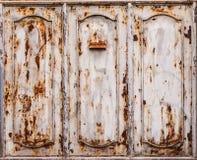 Ruggine sulla porta fotografia stock