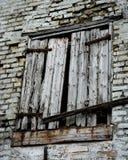 Rugoso y oxidado Fotografía de archivo