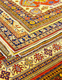 Rugs angle Royalty Free Stock Image