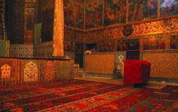 Rugs & frescos, Armenian Church Royalty Free Stock Images