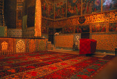 Rugs & frescos, Armenian Church Stock Photos