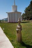 Ruh Ordo kulturalny kompleks blisko Issyk Kula jeziora Fotografia Stock