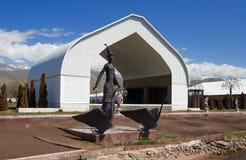 Ruh Ordo kulturalny kompleks blisko Issyk Kula jeziora Zdjęcie Royalty Free