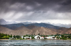 Ruh Ordo near Issyk Kul lake Royalty Free Stock Images