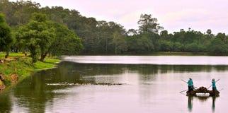 Ruhe auf dem Wasser stockbilder