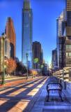 Ruhe in der Stadt stockfotografie