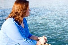 Ruhe durch das Meer Lizenzfreies Stockbild