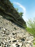 Ruhe im Steinbruch Stockfotos