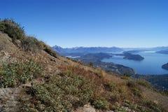 Ruhe und Ruhe auf dem Berg lizenzfreies stockbild