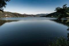 Ruhe von See Celije in Serbien Lizenzfreie Stockbilder