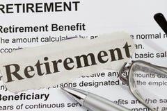 Ruhestand Lizenzfreies Stockfoto
