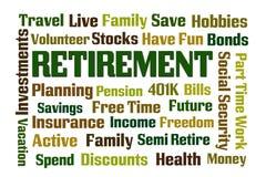 Ruhestand lizenzfreie abbildung