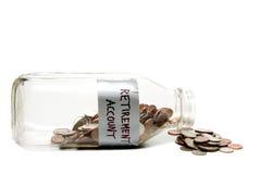 Ruhestand-Konto Lizenzfreies Stockfoto
