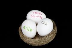 Ruhestandnestverfassung Lizenzfreie Stockfotos