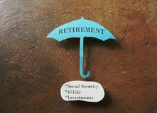 Ruhestandskonzept Stockfotos