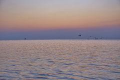 Ruhig vom Meer stockfoto
