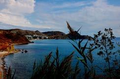 Ruhige Bucht, Koktebel, Krim Lizenzfreie Stockbilder