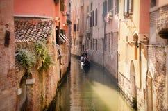 Ruhige Fahrt Venedigs Lizenzfreie Stockbilder